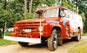 Firetruck Sauna