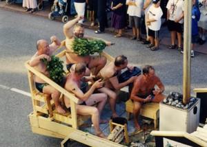 Parade Sauna 2003