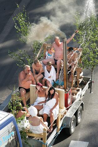 Parade Sauna 2006
