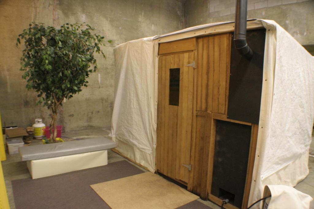 sauna tent (2014)