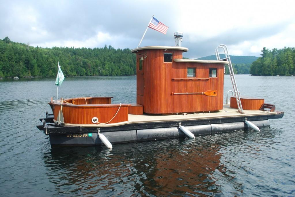 Adirondack Sauna Boat