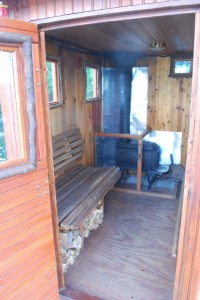 Saunaboat Interior