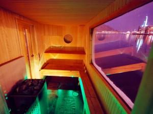 Vulkara Sauna boat interior