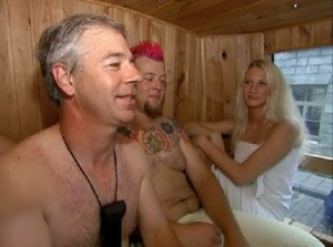 Amazing Race saunabus OFI