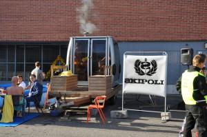 Skipoli  gondola sauna trailer