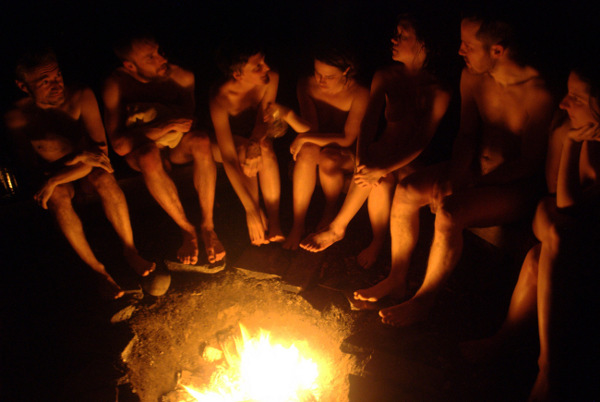 Hammock Residency Sauna Campfire