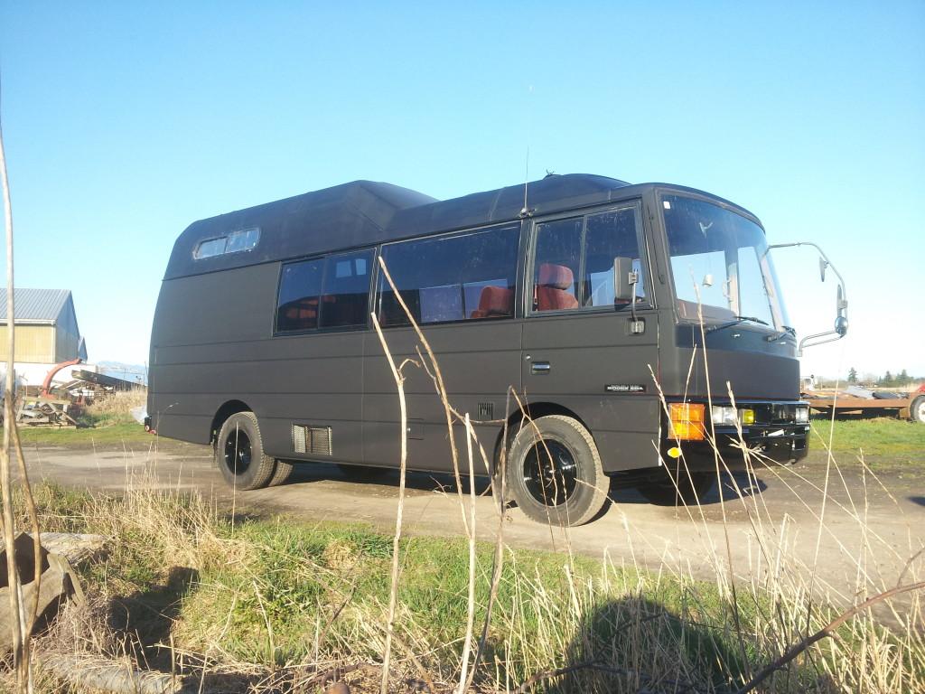 Ryan's BusSauna
