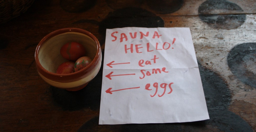 Sauna Eggs